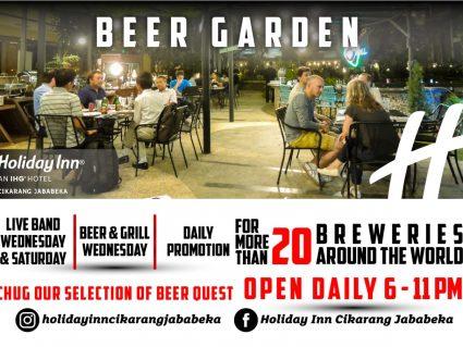 Beer around the World at Azurea Poolside Bar
