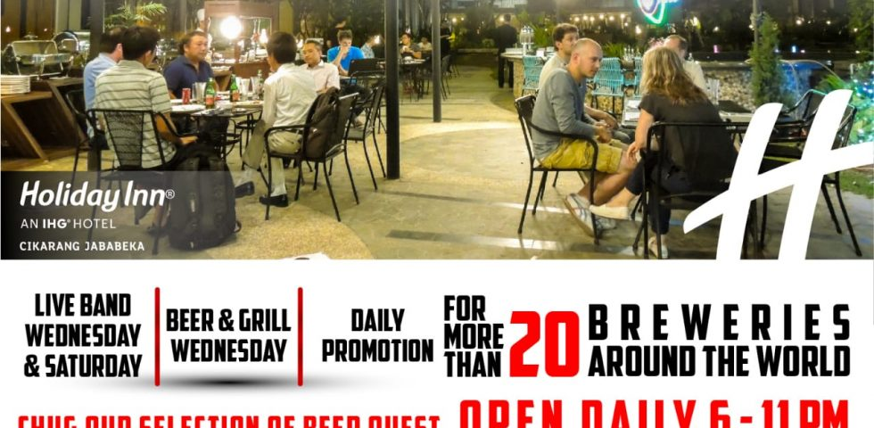 Beer around the World at Azurea Poolside Bar